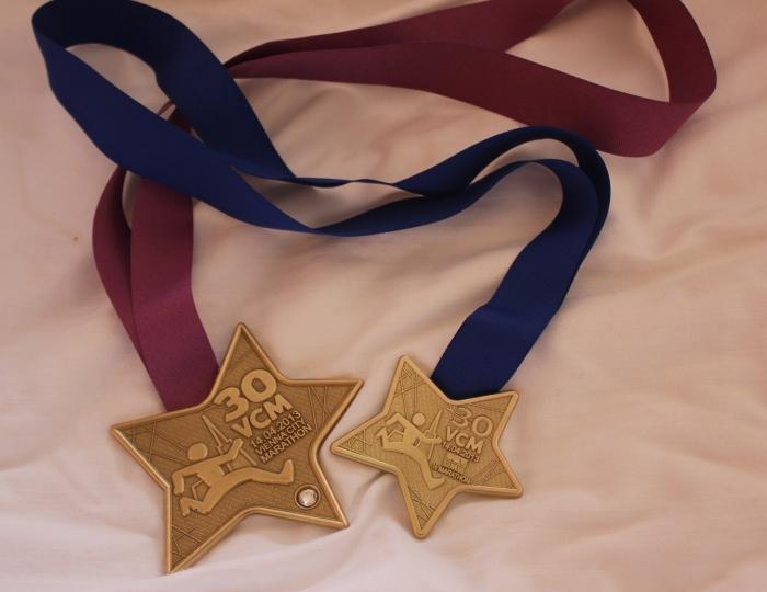 Vienna City Marathon medals
