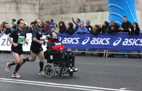 Barcelona marathon - disabled
