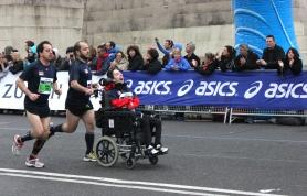 Barcelona marathon - disabled