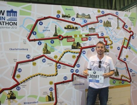 Berlin marathon expo bib