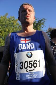 Berlin marathon pre-race - Dano
