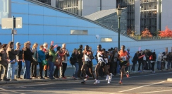 Berlin marathon front pack