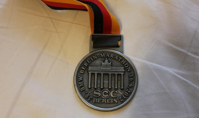 Berlin marathon medal