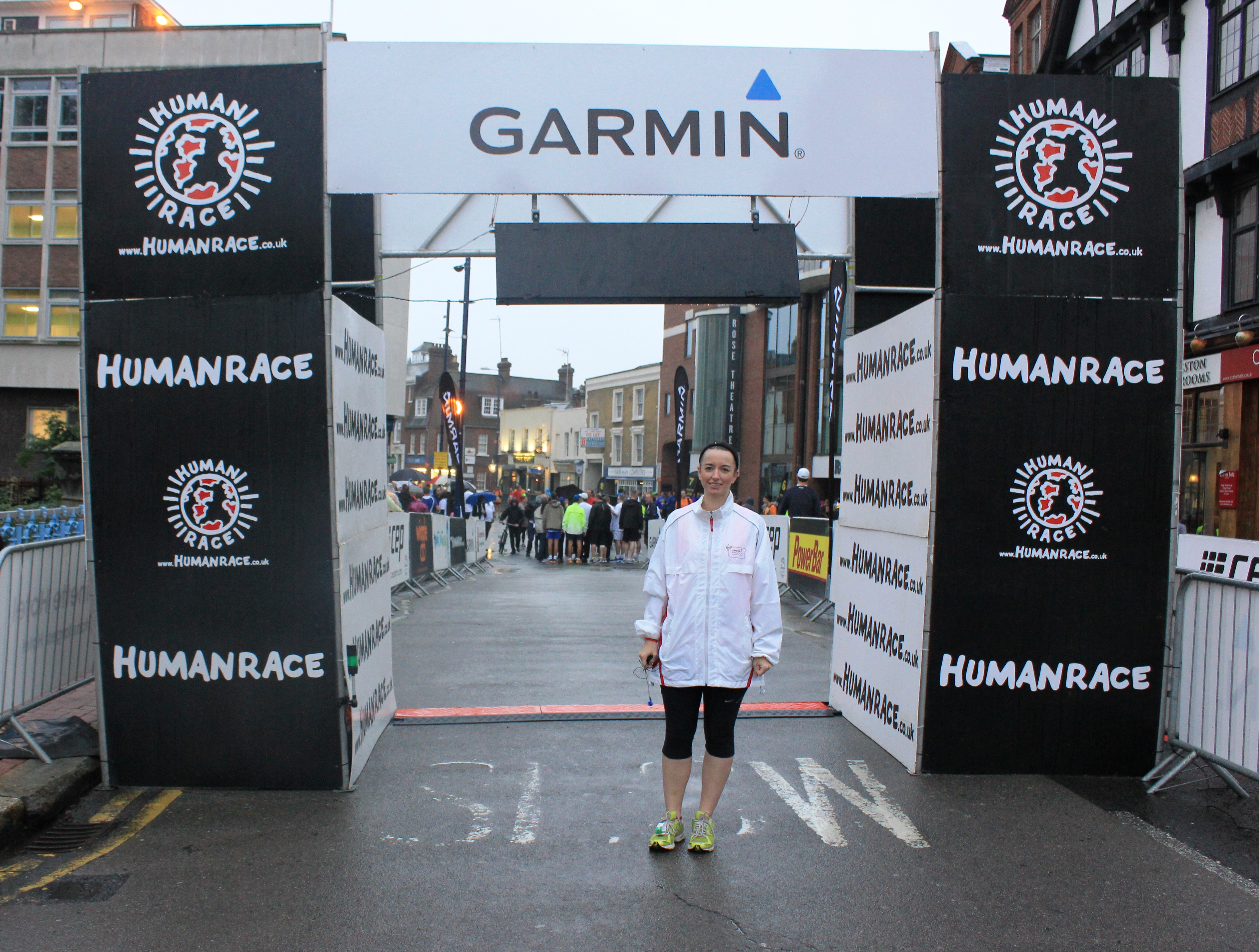 Run start line