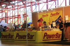 Power Bar stand at expo