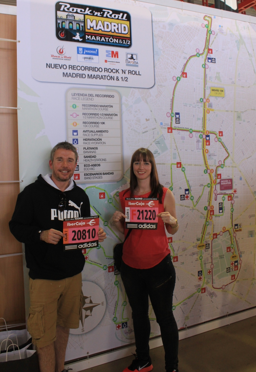 Runners at expo