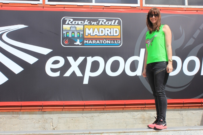 Runner at expo