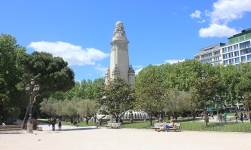 Madrid monument