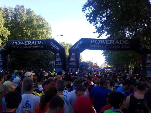 runners start line
