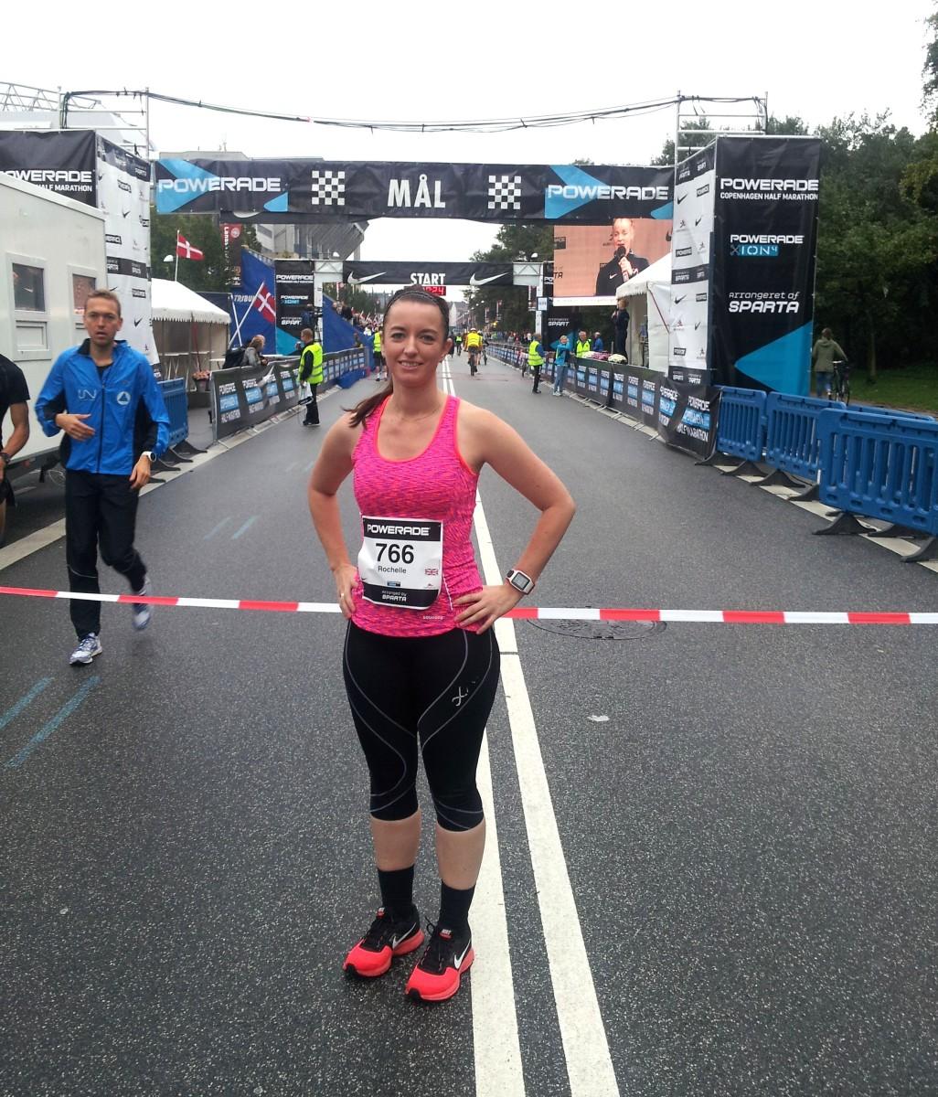 Female runner