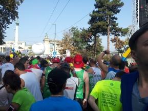 Runners on start line