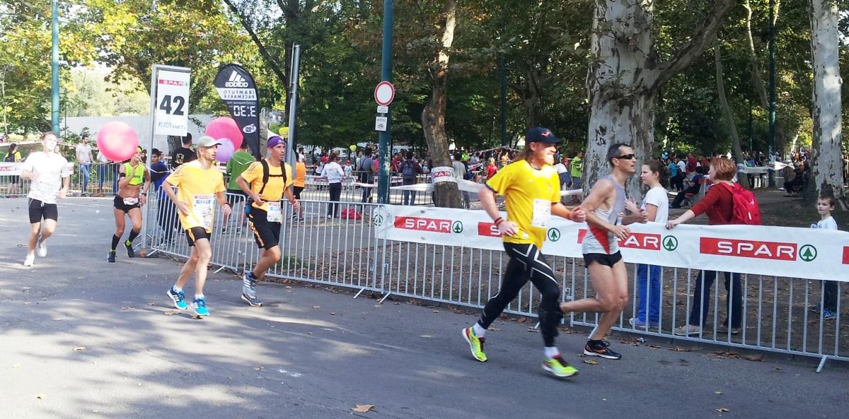 Budapest Marathon: 26.2 in 26°C
