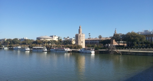 Seville across the river