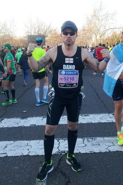 Runner on start line