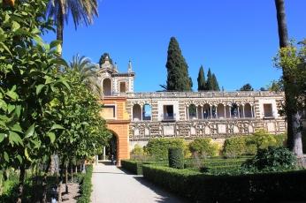 Garden of alcazar