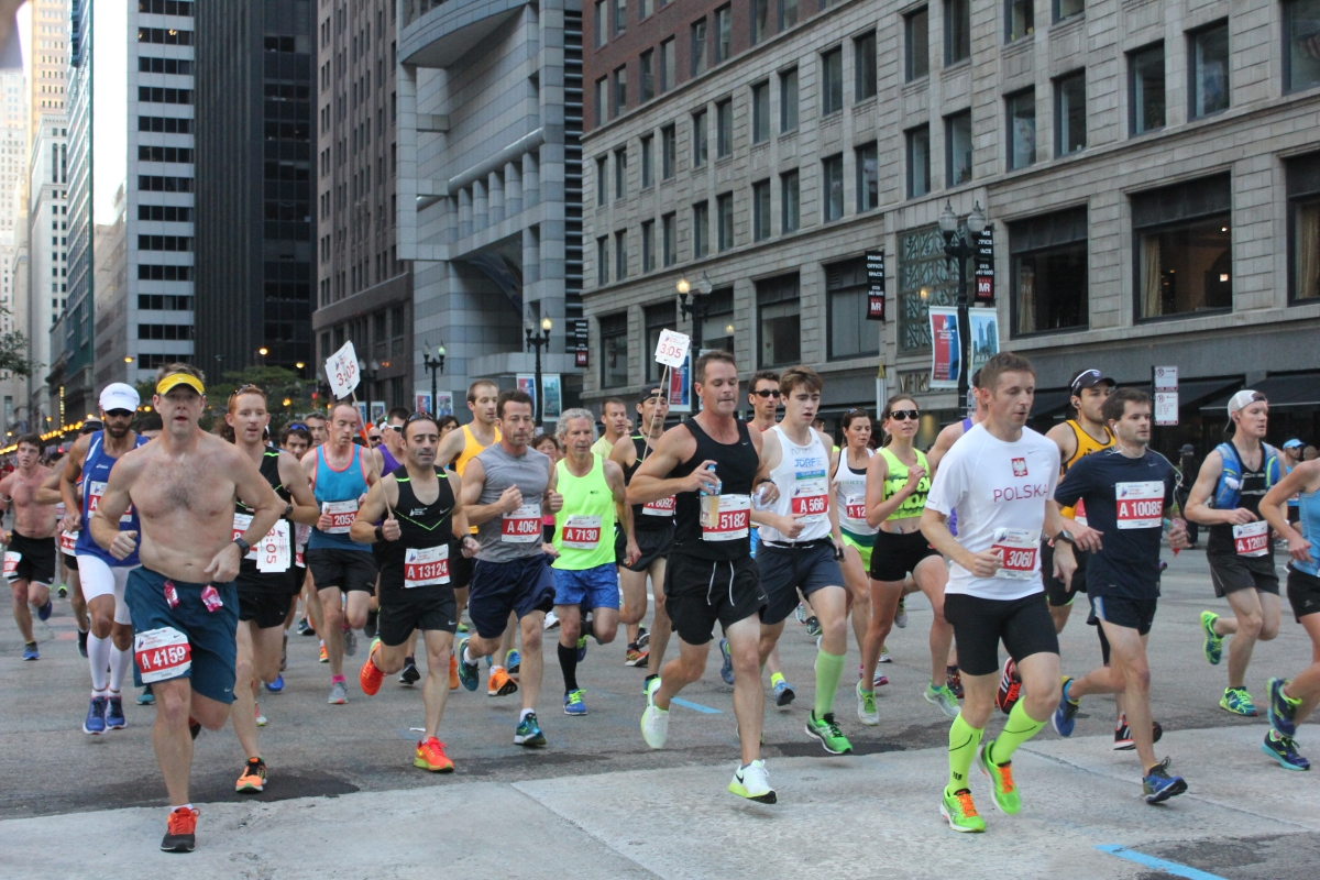 Chicago Marathon: Deep Pain Pizza